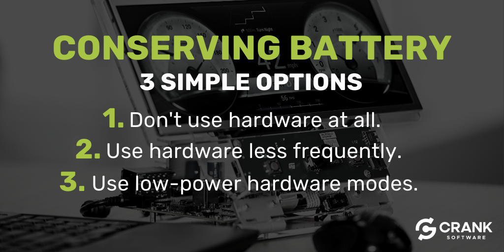 conserving-battery-options