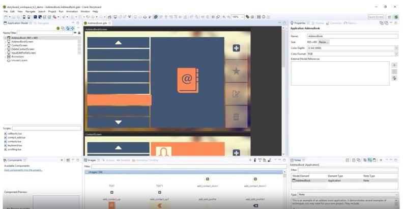 Storyboard Embedded Linux GUI development