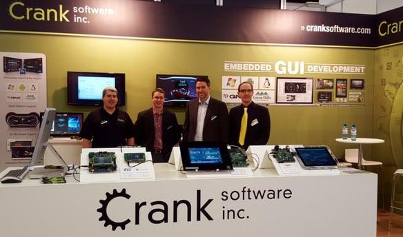 Crank Software Embedded World