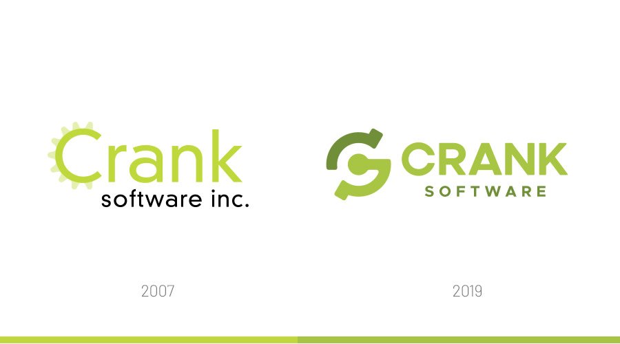 Crank logo change