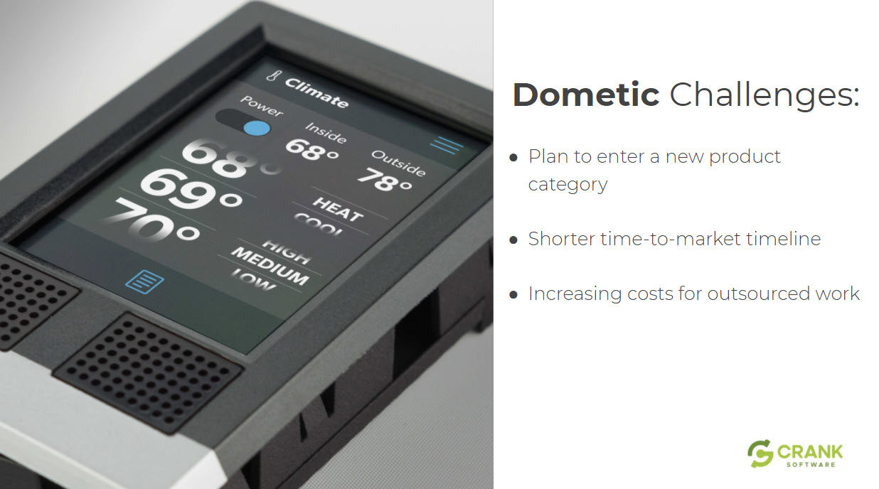 Dometic challenges with embedded GUI development