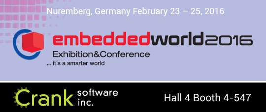 Storyboard Suite GUI Design at Embedded World 2016