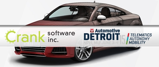 Crank Software is at the Detroit Auto Show