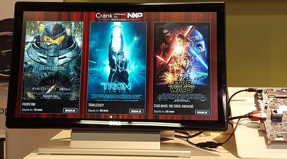 Movie Theatre Kiosk demo built with Storyboard Suite and running on the NXP i.MX 6QuadPlus