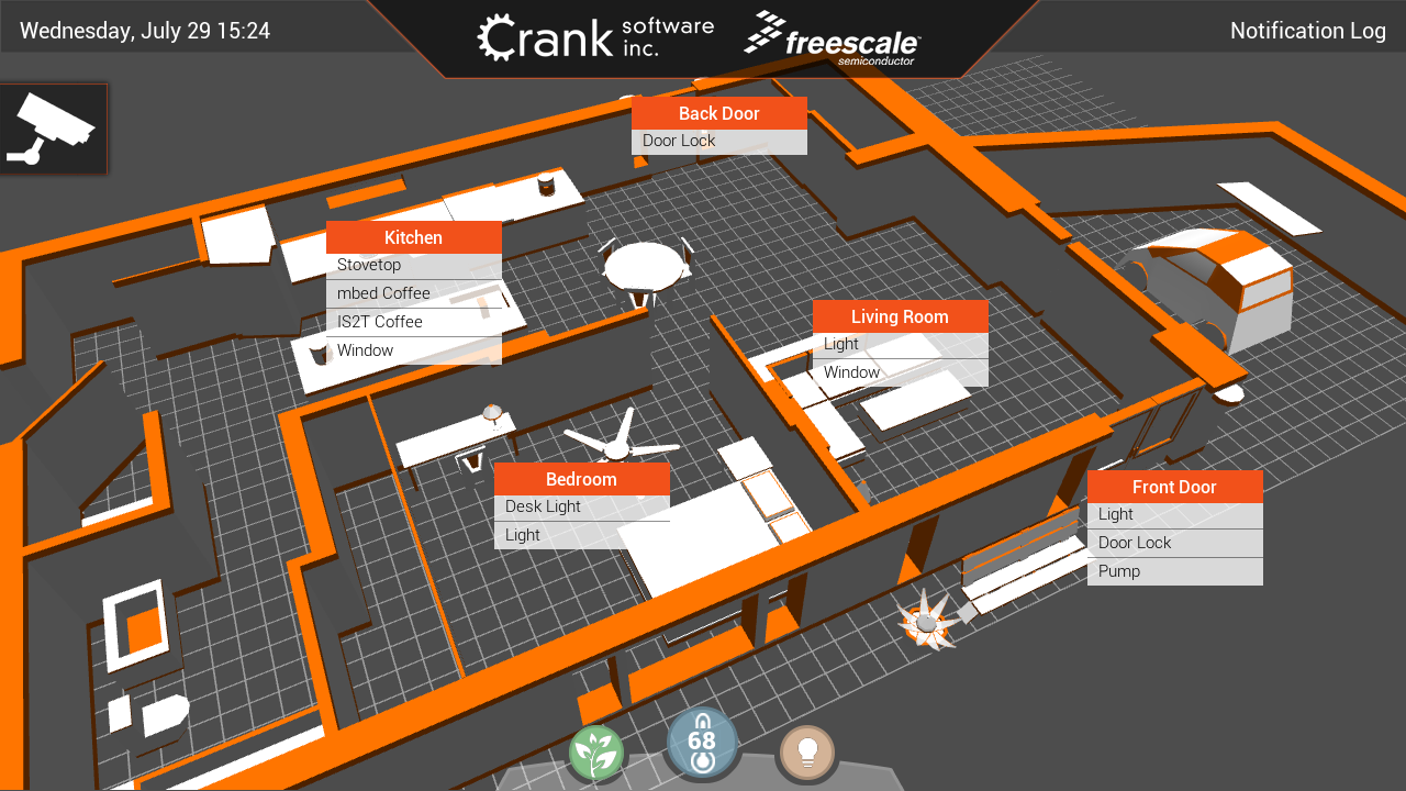 IoT Connected Home Freescale Crank Software
