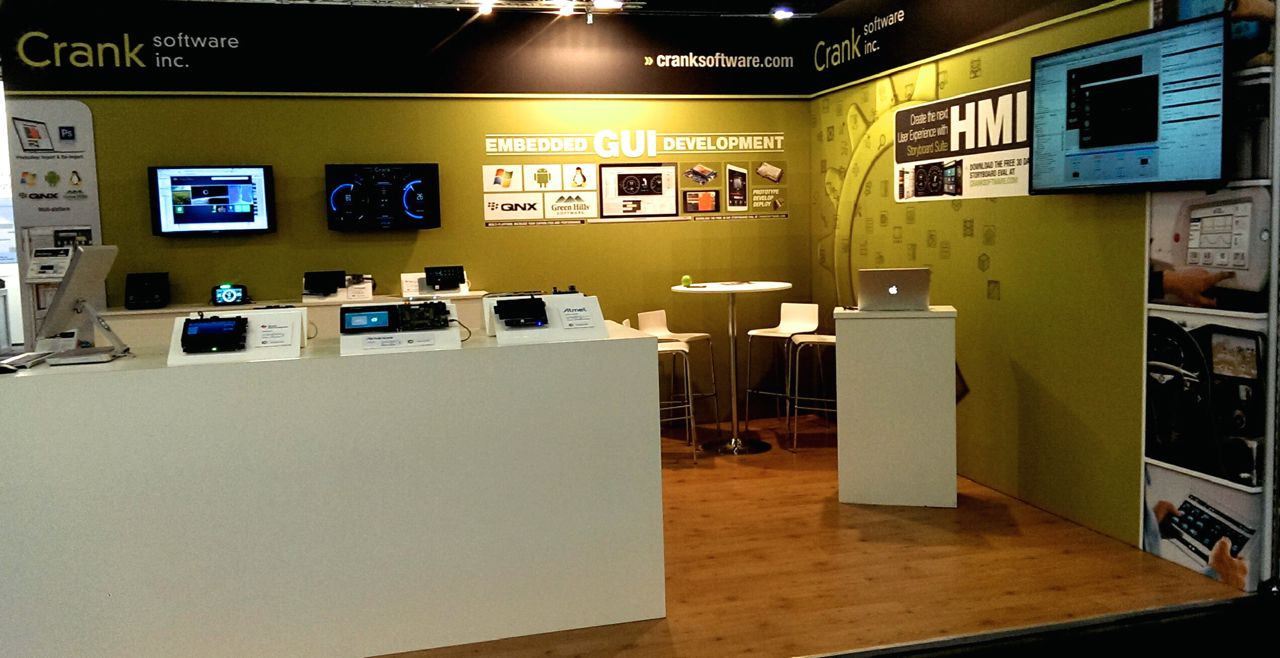 crank software embedded world booth