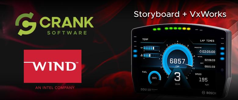 Crank Software Storyboard Suite support for Wind River VxWorks