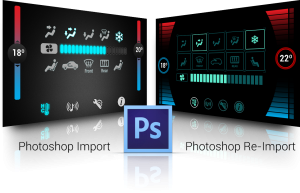 PSD Reimport GUI Tool, Qt Alternative