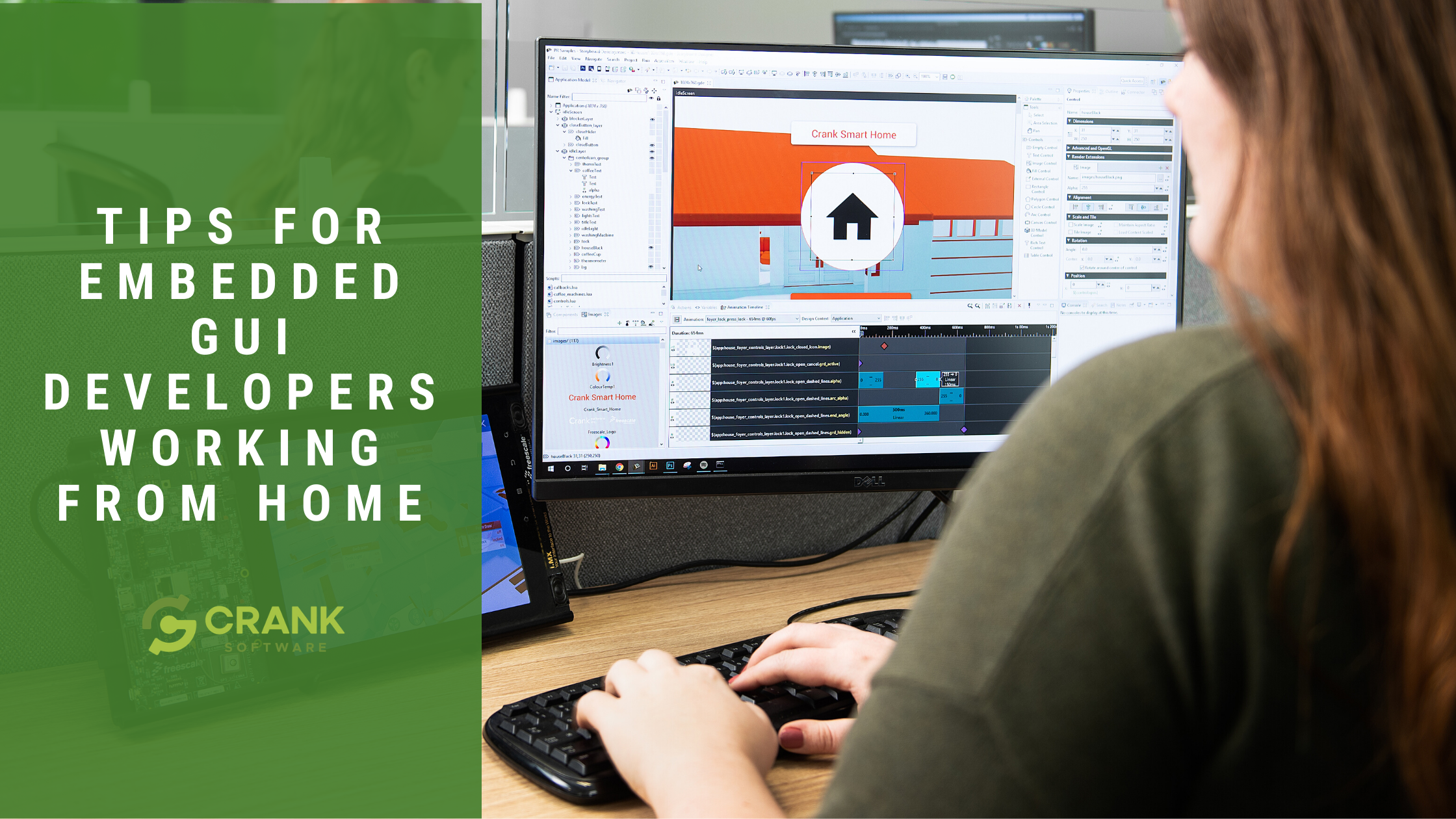 Tips for embedded GUI developers working from home with Storyboard