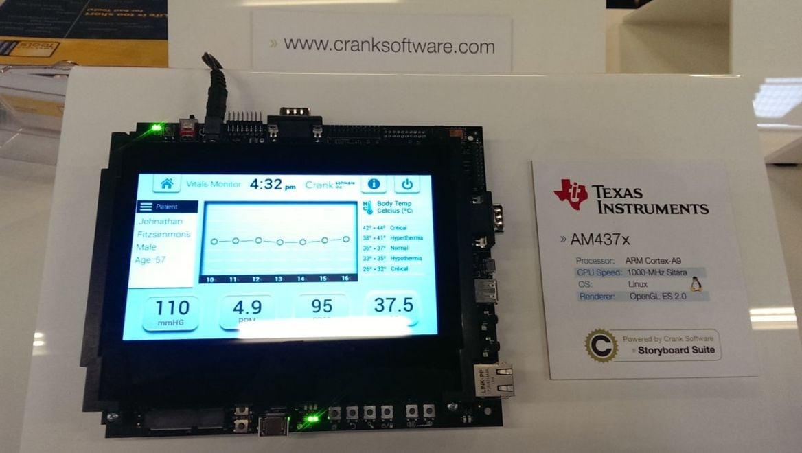 Texas Instruments, Crank Software