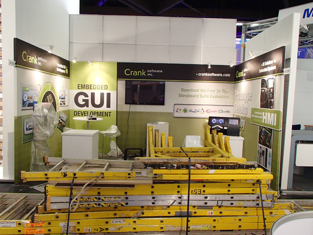 New Crank Booth At Embedded World